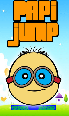 Download free mobile game: Papi jump - download free games for mobile phone