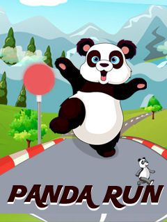 Download free mobile game: Panda run - download free games for mobile phone