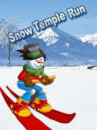 Download free mobile game: Snow temple run - download free games for mobile phone