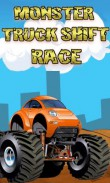 In addition to the  game for your phone, you can download Monster truck: Shift race for free.