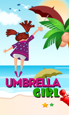 Download free mobile game: Umbrella girl - download free games for mobile phone