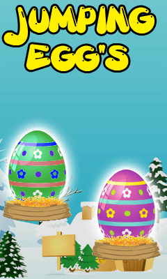 Download free mobile game: Jumping egg's - download free games for mobile phone