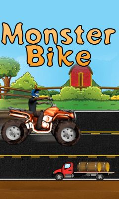 Download free mobile game: Monster bike - download free games for mobile phone
