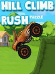 In addition to the  game for your phone, you can download Hill climb rush: Puzzle for free.