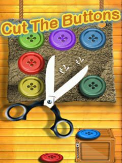 Download free mobile game: Cut the buttons - download free games for mobile phone
