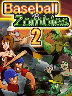Download free mobile game: Baseball vs zombies 2 - download free games for mobile phone