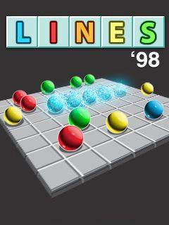 Download free mobile game: Lines 98 - download free games for mobile phone