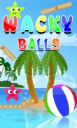 In addition to the  game for your phone, you can download Wacky balls for free.