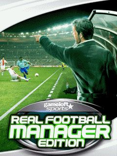 Mobile game Real football manager edition - screenshots. Gameplay Real football manager edition