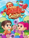 In addition to the  game for your phone, you can download 3 in 1: Candy games for free.