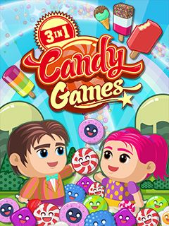 Download free mobile game: 3 in 1: Candy games - download free games for mobile phone