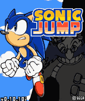 Download free mobile game: Sonic jump v0.10 - download free games for mobile phone