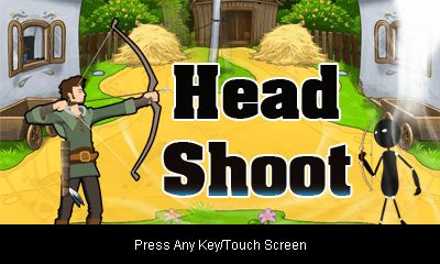 Download free mobile game: Head shoot - download free games for mobile phone