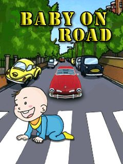 Download free mobile game: Baby on road - download free games for mobile phone