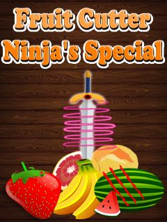 Download free mobile game: Fruit cutter: Ninja special - download free games for mobile phone