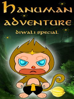Download free mobile game: Hanuman adventure diwali special - download free games for mobile phone
