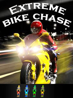 Download free mobile game: Extreme bike chase - download free games for mobile phone