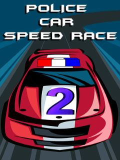 Download free mobile game: Police car: Speed race 2 - download free games for mobile phone
