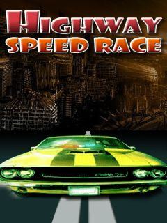 Download free mobile game: Highway speed racing - download free games for mobile phone