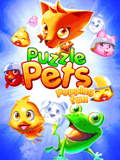 Download free mobile game: Puzzle pets: Popping fun - download free games for mobile phone