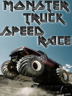 Download free mobile game: Monster truck speed race - download free games for mobile phone