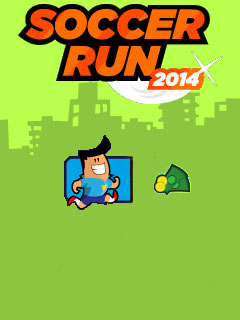 Download free mobile game: Soccer run 2014 - download free games for mobile phone