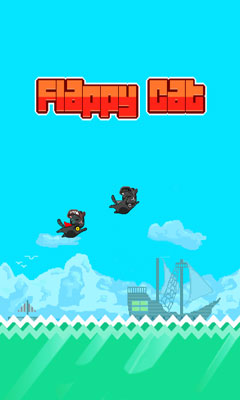 Download free mobile game: Flappy сat - download free games for mobile phone