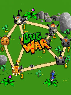 Download free mobile game: Bug war - download free games for mobile phone