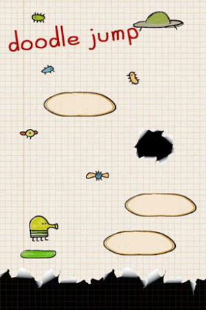 Download free mobile game: Doodle Jump 2014 - download free games for mobile phone