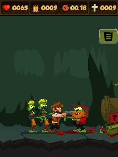Zombie Chase 3 Asha 306 Java Game