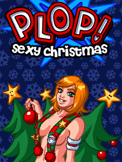 Download free mobile game: Plop! Sехy Christmas - download free games for mobile phone