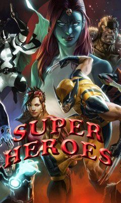 Download free mobile game: Super heroes - download free games for mobile phone