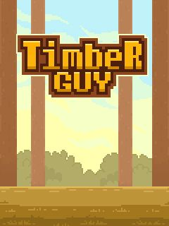 Download free mobile game: Timber guy - download free games for mobile phone