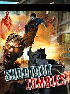 Mobile game Shootout zombies - screenshots. Gameplay Shootout zombies