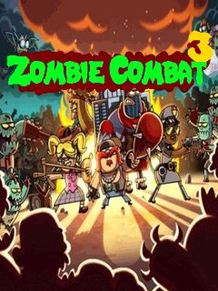 Download free mobile game: Zombie combat 3 - download free games for mobile phone