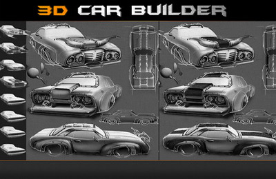 Car builder game