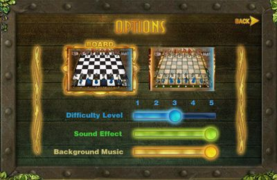 Screenshots of the 3D Chess game for iPhone, iPad or iPod.