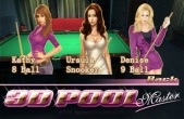 In addition to the game Turbo Racing League for iPhone, iPad or iPod, you can also download 3D Pool Master for free