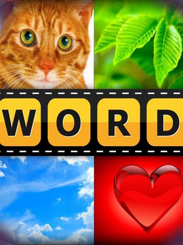 pics 1 word - iPhone game screenshots. Gameplay 4 pics 1 word.