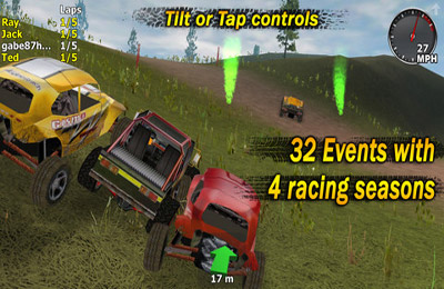 Screenshots of the 4x4 Jam game for iPhone, iPad or iPod.