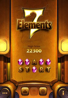 Screenshots of the 7 Elements game for iPhone, iPad or iPod.