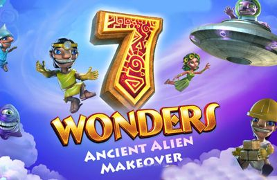 Screenshots of the 7 Wonders: Ancient Alien Makeover HD game for iPhone, iPad or iPod.