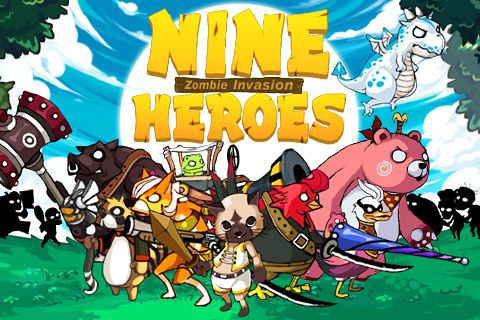 Download 9 Heroes defence: Zombie invasion iPhone free game.