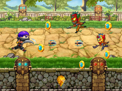 Clash of Diamond Warrior: Temple Adventure Pro Game - iPhone game