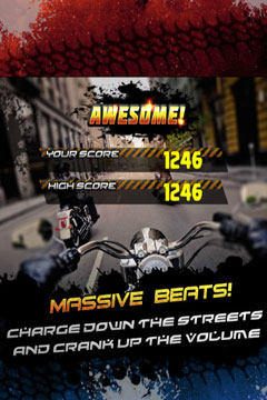 Screenshots of the A Furious Outlaw Bike Racer: Fast Racing Nitro Game PRO game for iPhone, iPad or iPod.