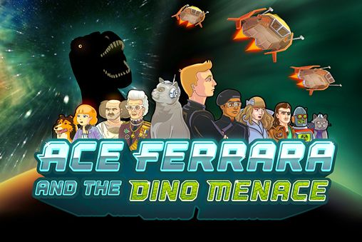 Download Ace Ferrara and the dino menace iPhone free game.