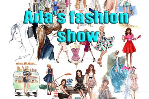 Screenshots of the Ada's fashion show game for iPhone, iPad or iPod.