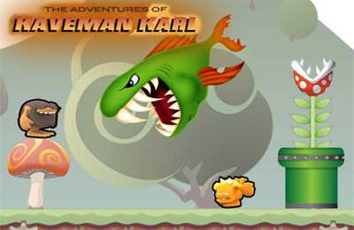 Download Adventures of Kaveman Karl iPhone free game.
