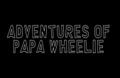 In addition to the game Talking Pierre the Parrot for iPhone, iPad or iPod, you can also download Adventures of Papa Wheelie for free