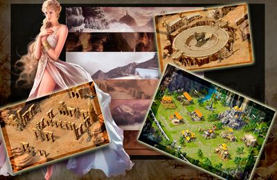 Screenshots of the Age Of Empire game for iPhone, iPad or iPod.